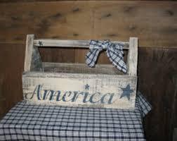 wooden tool box etsy. primitive americana wood tool box wooden etsy n