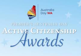 Australia Day Active Citizenship Award Shire Of Perenjori Wa