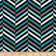 Design Studio Herringbone Black/Blue - Discount Designer Fabric - Fabric.com