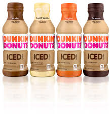 new dunkin donuts bottled iced coffee now arriving at relers and dunkin donuts restaurants
