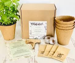 herb garden kit indoor herb garden non