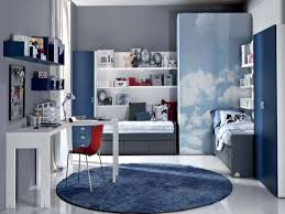 inspiration bedroom wonderful sky blue wall decors as well as white wall mounted bookcase and white charming boys bedroom furniture