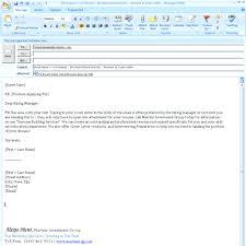 Awesome Emailing Resume Sample Message Frieze Documentation
