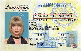 Maker Id Fake Louisiana Scannable Id-chief Cards