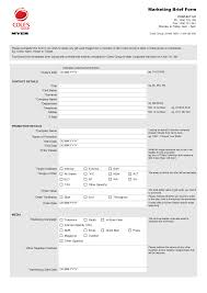 Project Brief Template Project Brief Template Google Search Marketing Forms Pinterest 22