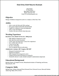 Job Info Resume Examples Clerical Templates All Best Cv Resume Ideas