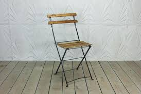 french bistro chairs metal. wonderfull french bistro folding chair vintage wood metal by style chairs