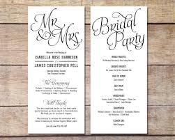 Wedding Programs Template Free 007 Wedding Program Template Free Download Templates Fan