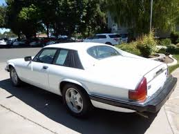 1989 jaguar xjs coupe 2 doors v 12 automatic heated seats old english white