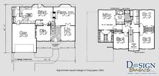 Schuyler U2013 4 Bedroom / 2 Story Approx. 2644 Sq Ft. Schuyler Floorplans