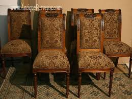upholstered dining room chairs luxury upholstery fabric