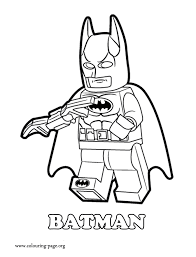 Small Picture Coloring Page Lego Lego Minifigure Coloring Pages Printable For