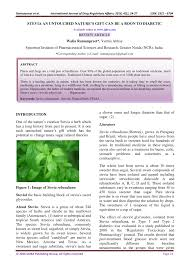 pdf stevia an untouched nature s gift can be a boon to diabetic
