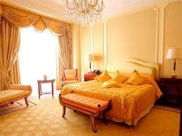 Beautiful Orange And Yellow Bedroom Design Ideas