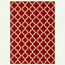 trellis red reversible ft in x outdoor rugs the home depot hampton bay rgar