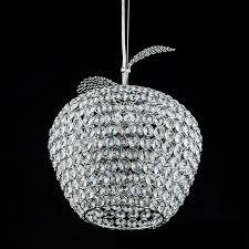 modern cheap lighting. modern apple stainless steel led lamps crystal pendant lights bedroom luster light restaurant cheap lighting a