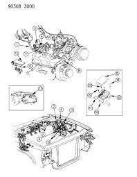 1993 dodge dakota wiring engine front end related parts resource t ds lr