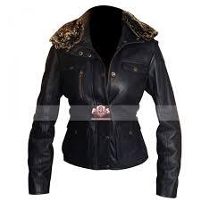 las fur collar slim fit style navy blue leather jacket 700x700 jpg