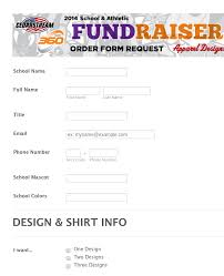 Fundraising Order Form Templates 2014 School Fundraiser Order Form Request Form Template