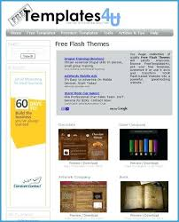 Free Flash Web Template Dynamic Flash Website Templates Free Download Amazing Intro