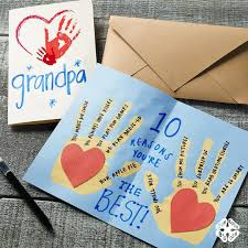 grandpas day gift ideas card