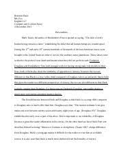 the adventures of tom sawyer documents course hero compare and contrast essay final