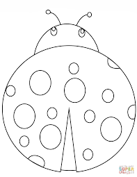Lady Bug Coloring Sheet Ladybug Coloring Pages Free Coloring Pages
