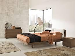 Oak Bedroom Veneran Italia Gemo Italian Solid Birch Oak Bed With Real