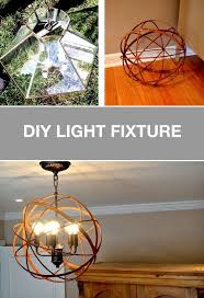 diy ceiling light makeover easy embroidery hoop pendant led lighting projects home decor electrical wiring uk