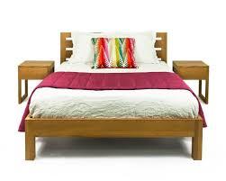 Teak Bedroom Furniture Buy Solid Teak Wood Bed Base Canary Wharf Online In India Best