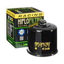 Hiflo Oil Filter Fitment Chart Hiflo Filtro Oil Filter Hf 204 Rc Racing Road And Track For Honda Kawasaki Yamaha Triumph