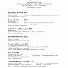 Tabular Cv Template Great Server Resume Newest Server Resume Template Best