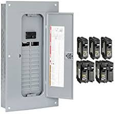 the main electrical panel subpanels square d