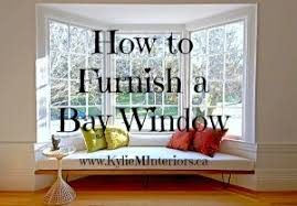 how to furnish or style a bay window in any room with furniture bench and bay window furniture