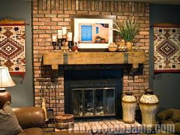 rustic wood fireplace mantel shelf fireplace mantel ideas with above for more pleasant interior classic decoration