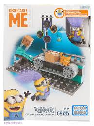 Миньоны: <b>игровые наборы</b>, <b>серия</b> III MEGA BLOKS 2607800 в ...