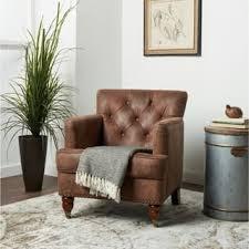 vintage chair. Abbyson Tafton Antique Brown Fabric Club Chair Vintage