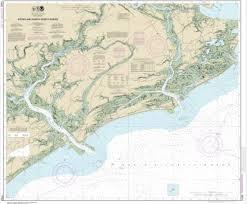 Noaa Chart Stono And North Edisto Rivers 11522