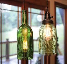 Amazing Upcycle Wine Bottle Into Pendant Light Fixtures How Tos Diy  Intended For Wine Bottle Pendant Light Kit Ordinary ...