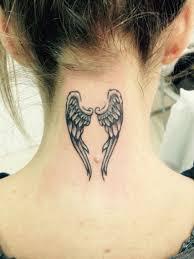 Neck Tattou Angel Wings Tattoo Designs Angel Tattoo