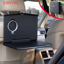 Auto Mobile Office Car Laptop Mount Foldable Vehicle Backseat Ipad Stand Holder For Kids Toy Bottles Storage And Mobile Office Dining Drink Eating Desk On Trucks Vans