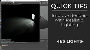 Realistic Lighting Cinema 4d Realistic Lighting In Octane Quick Tips