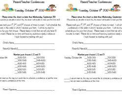 parent teacher conference letters parent teacher conference letters pack by fun fabulous first tpt