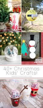 Christmas Kids Crafts 40 Christmas Kids Crafts Sweet Rose Studio