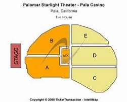 Starlight Theater Seating Chart The 30 Second Trick For Pala Casino Starlight Theater
