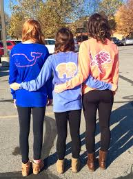 vineyard vines ivory ella and makai clothing co long sleeve t shirts friend goals