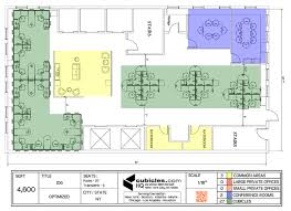 office furniture layouts. Office Furniture Plan In 4,600 Square Footage. #officelayout Layouts O