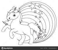 Unicorno Da Colorare Per Bambini Immagini Da Stampare Unicorno