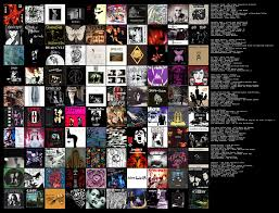 Topsters Crash Course On Goth Music Chart Imgur