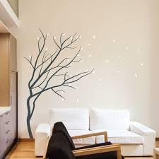 wall art design ideas winter season blossom wall art